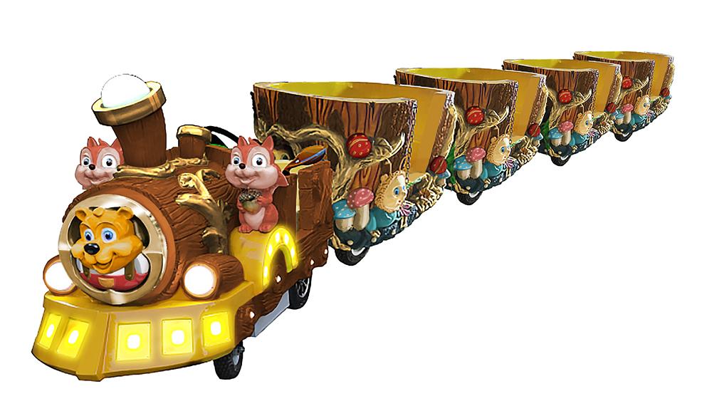 智乐黄金森林小火车
