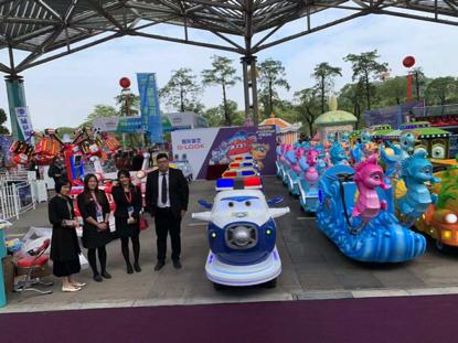智乐2020游博会现场