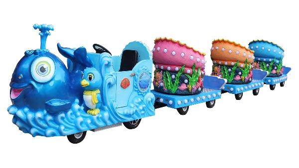 海洋酷派无轨小火车
