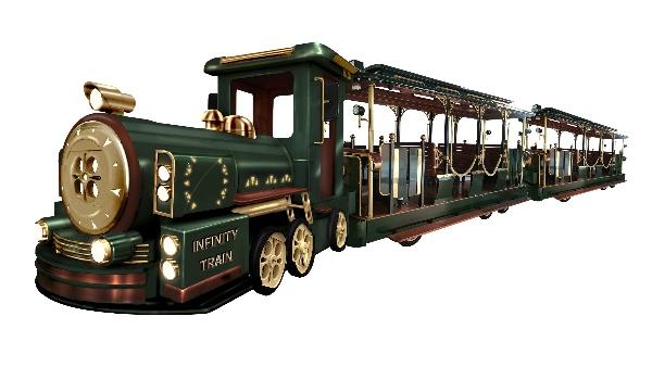 无限列车无轨观光小火车