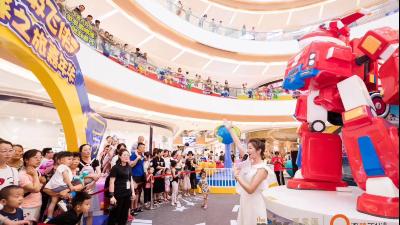 智乐游艺新资讯:IP商业成购物中心引流核心