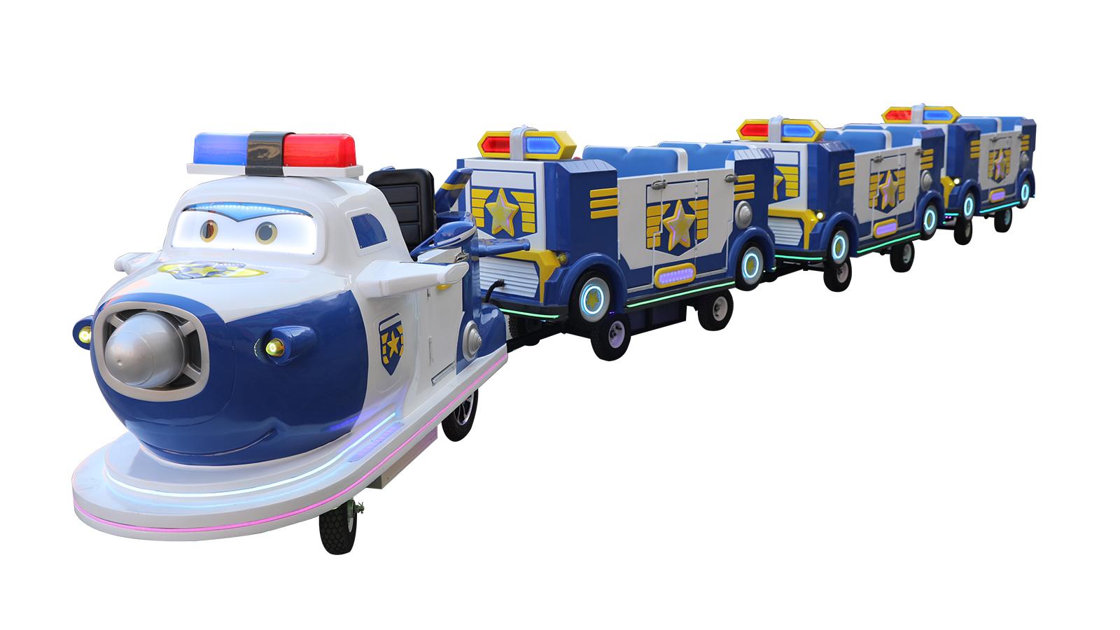 智乐包警长小火车