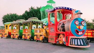 无轨观光小火车将取代传统观光车