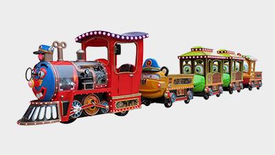 智乐观光小火车受到了各种朋友的喜爱