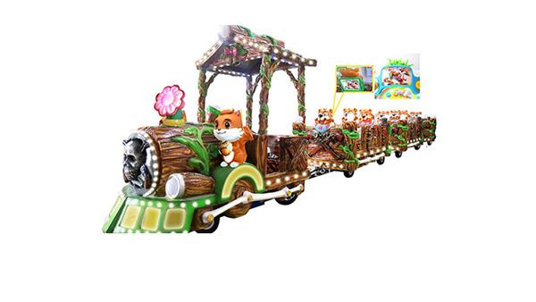 丛林列车小火车