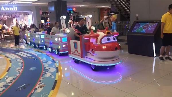 欢贝城乐迪小火车案例