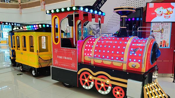 趣享屋儿童乐园时光旅行小火车案例
